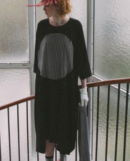 HENRIK VIBSKOV Ion Dress - Black Check Circle