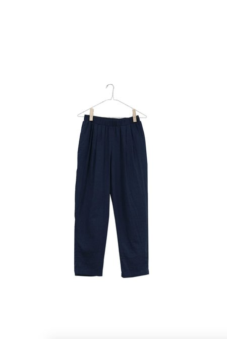 It Is Well L.A. Linen Pull On Pant - Navy