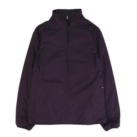 Pop Trading Company Plada Reversible Jacket - Dark Purple/Anthracite