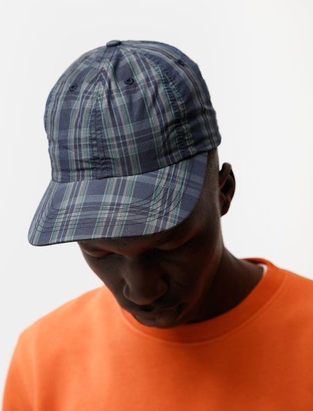Norse Projects Cotton Nylon Sports Cap - Check