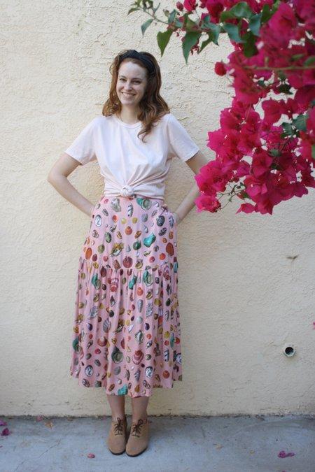 Samantha Pleet Freda Skirt - Shell