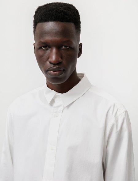 Niuhans Supima Cotton Regular Collar L/S Shirt - White