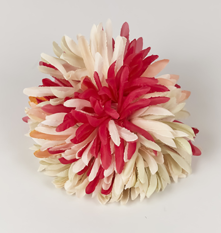 INDRESS Large Anemone Brooch Hairpiece - Multicolour