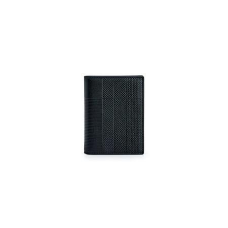 Comme des Garçons Intersection Lines Bifold Wallet -  Black