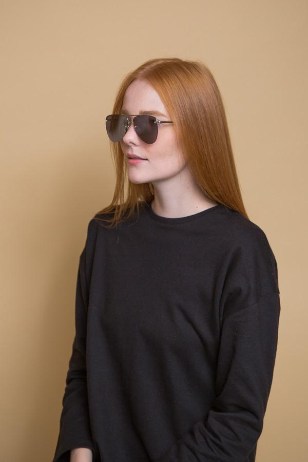 Le Specs The Prince Sunglasses / Gold