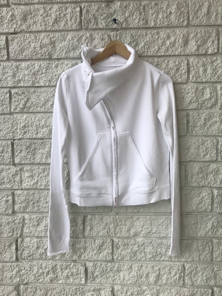 Frank & Eileen Asymmetric Zip Fleece Jacket