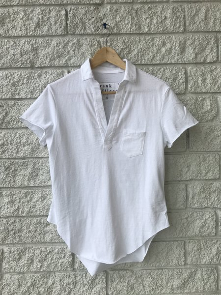 Frank & Eileen Short Sleeve Polo - White