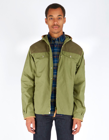Men's Fjallraven Greenland No. 1 Special Edition Coat Green Tarmac
