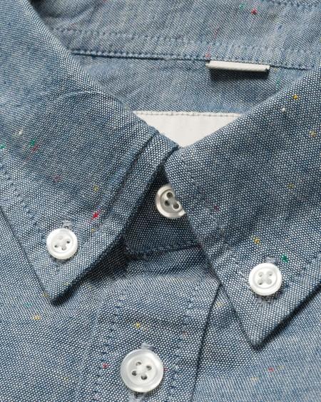 CARHARTT WIP Camisa LS Kyoto Shirt - Blue Stone Washed