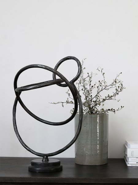 House Doctor Circles Sculpture