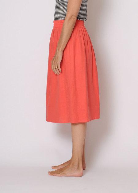 Conifer Cotton Skirt Sample