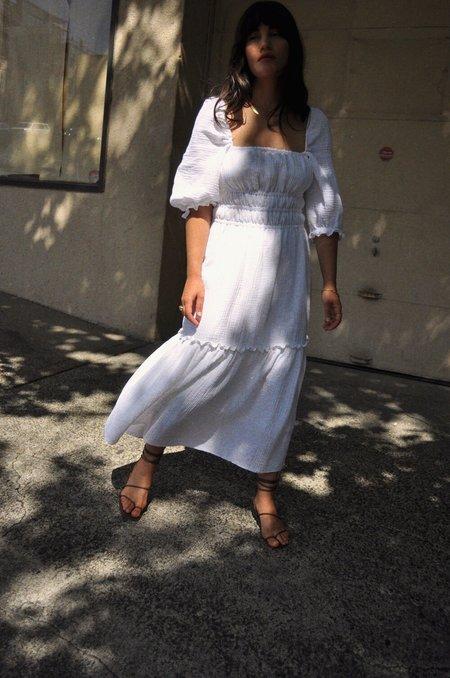 Cocobolo Lucca Dress - White
