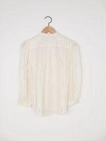 Warm Wonderful Blouse - Cream