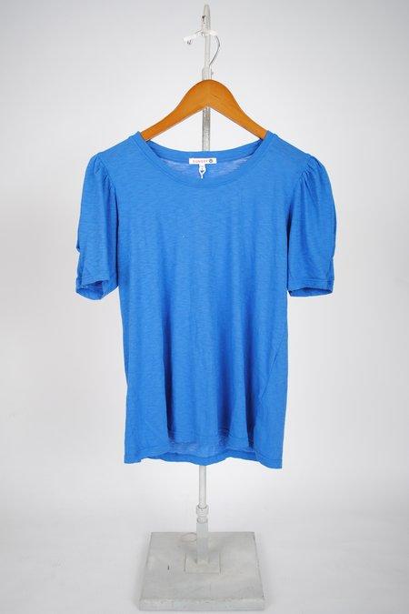 Sundry Puff Sleeve Tee - China Blue