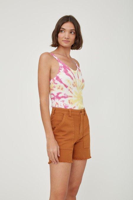 Lacausa Drifter Shorts - Almond