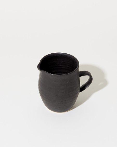 Sheldon Ceramics Farmhouse Creamer - Satin Black