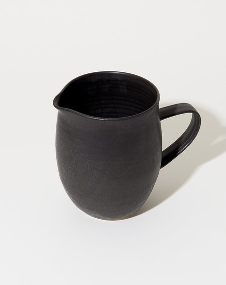 Sheldon Ceramics Farmhouse Pitcher - Satin Black