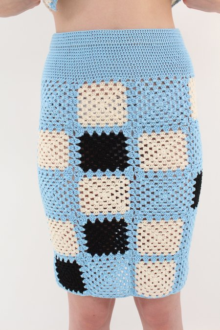Licky Boy Viridiana Skirt - Blue