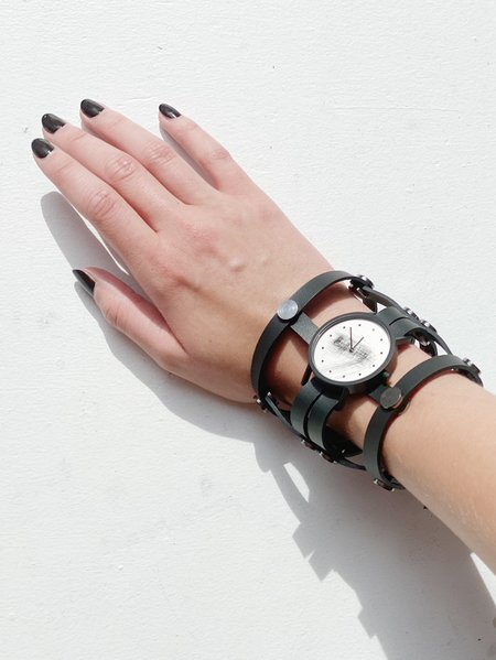 Aumorfia Strap2 Watch - Black