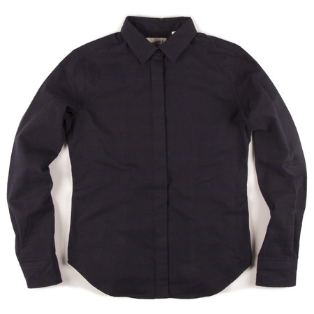 Men's Naked & Famous TONAL STRIPE SHIRT