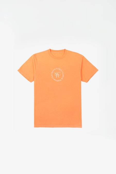 Sporty & Rich SRHWC t-shirt - orange cream