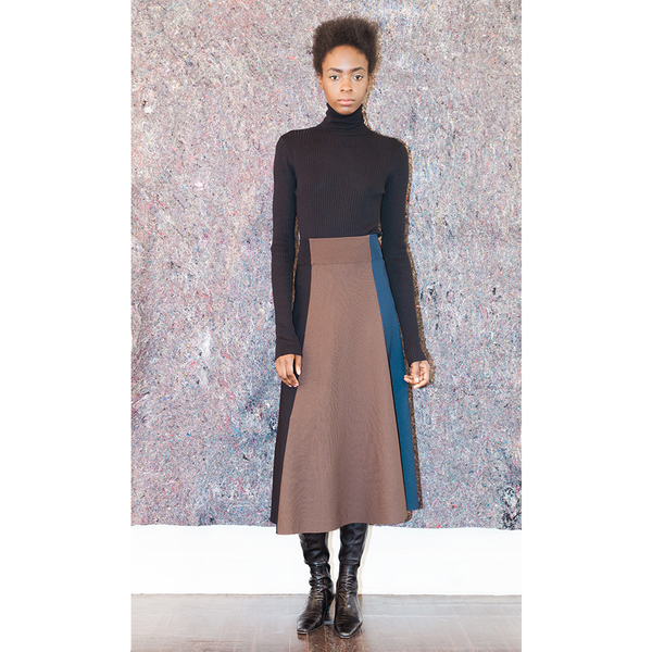 Pari Desai Color Blocked Skirt - Multi