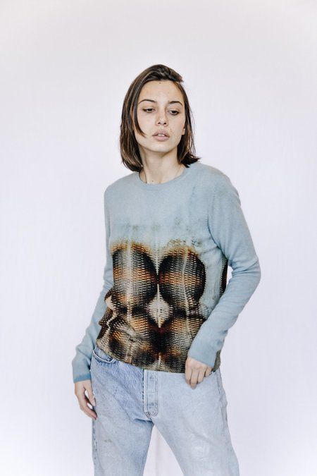 Galadriel Mattei Recycled Printed Cashmere Sweater