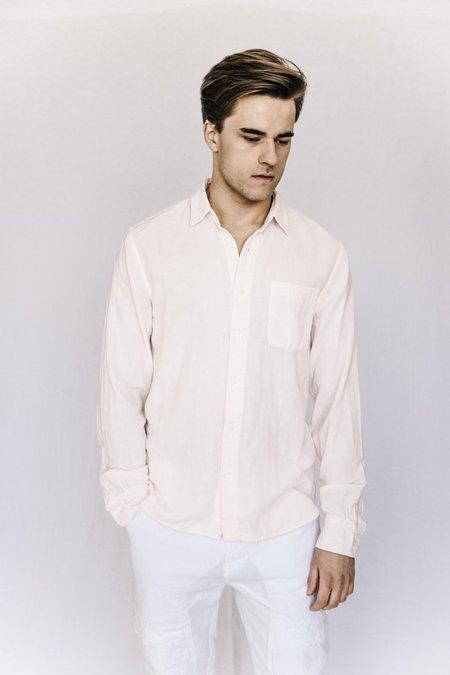 Kato Cotton Gauze Shirt - Light Pink