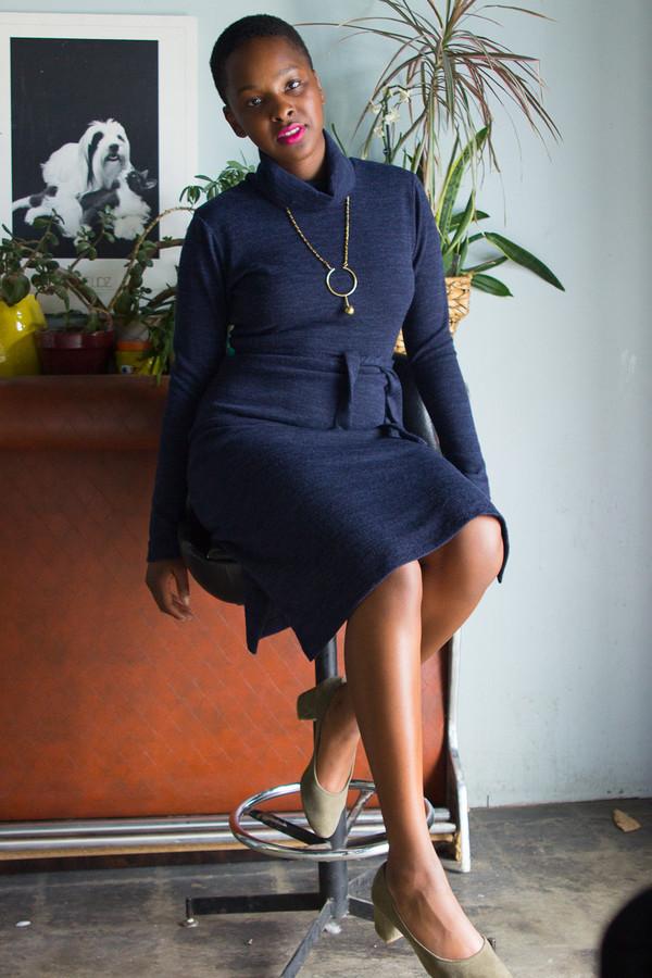 Dagg & Stacey Willis Turtleneck Dress