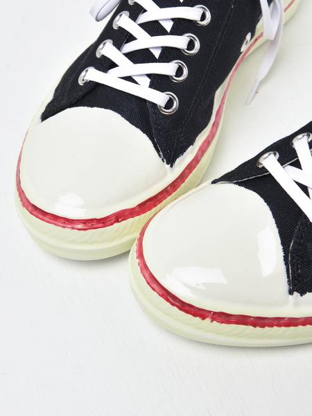 Marni Olona Imperiali Sneakers - Black/Lily White