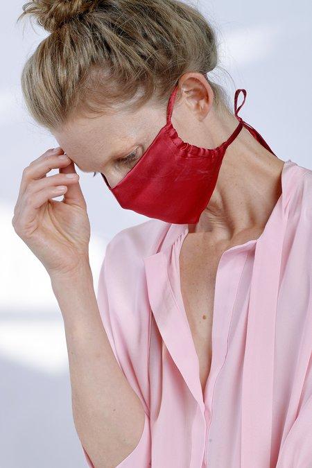 KES Sustainable Silk Washable Face Mask - Dusk Berry