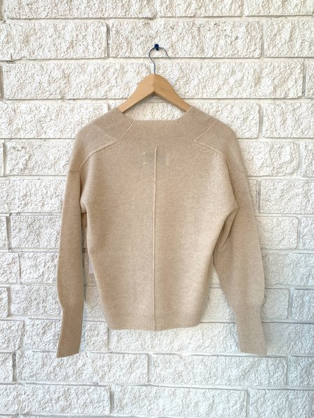 Brochu Walker Nils Vee Sweater - Amur Melange