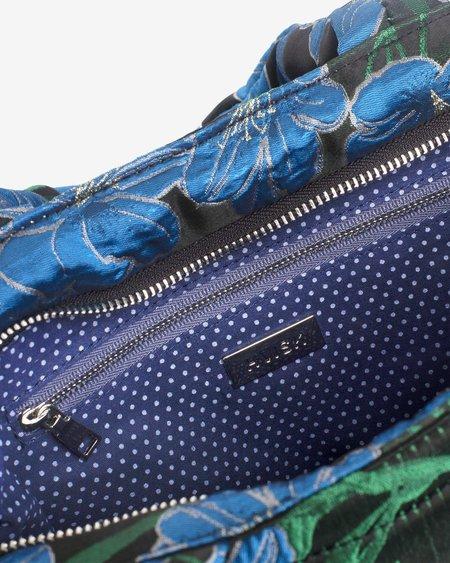 HVISK VALLEY WATER FLOWER bag - BLACK