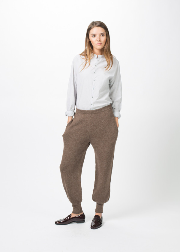 A Détacher Knit China Pant