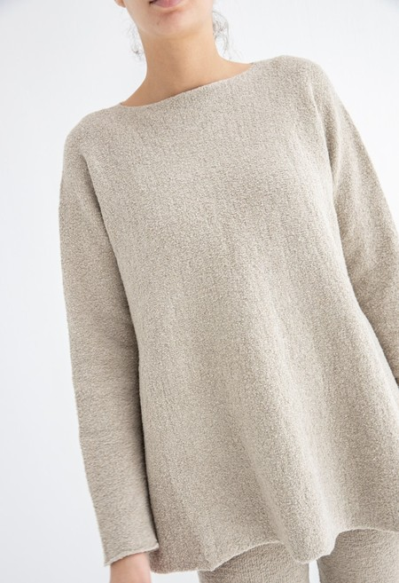 Lauren Manoogian Flare Pullover - Pumice