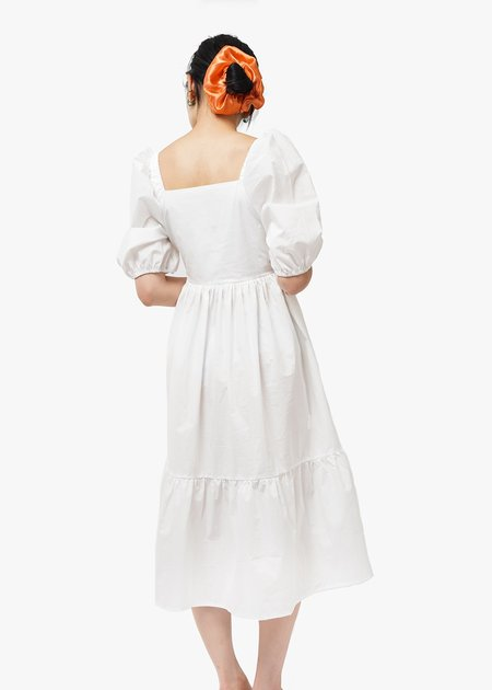 Bronze Age Serenity Dress - White