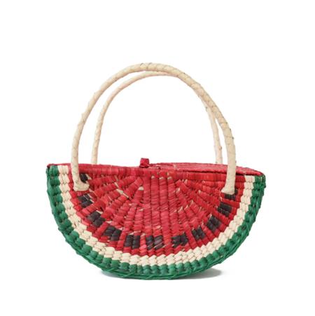 Biuriful Watermelon Straw Bag