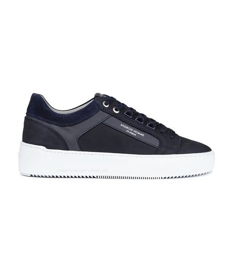 Android Homme Propulsion Sneaker Stingray Suede Navy Garmentory