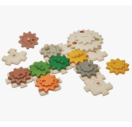 kids Plan Toys Gears and Puzzles