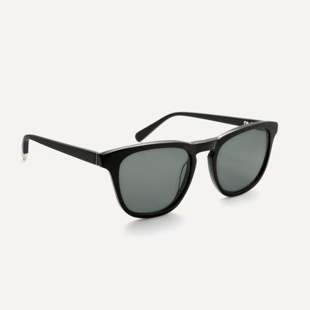 Unisex Pala Eyewear Biodegradable Nyota Sunglasses - Black