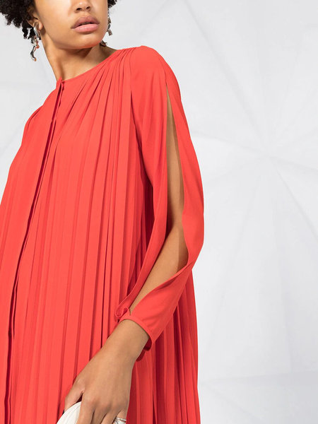 Henrik Vibskov Sparrow Dress - So Emotional Red