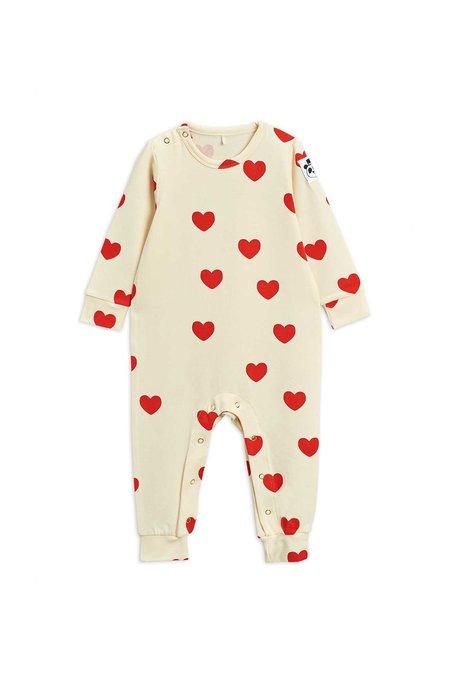 Kdis Mini Rodini Hearts Jumpsuit - Ivory