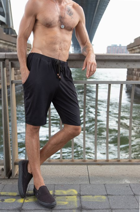 Crow Collective Journey Shorts - Pitch Black
