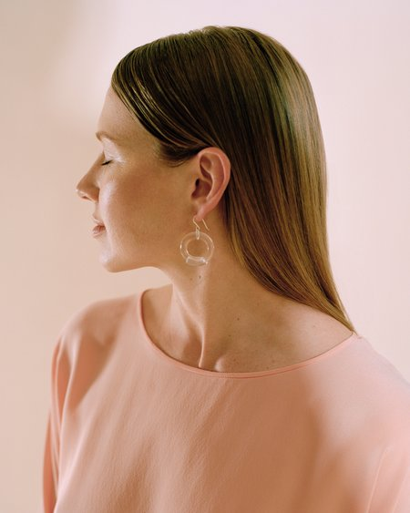 Corey Moranis Circle Earrings