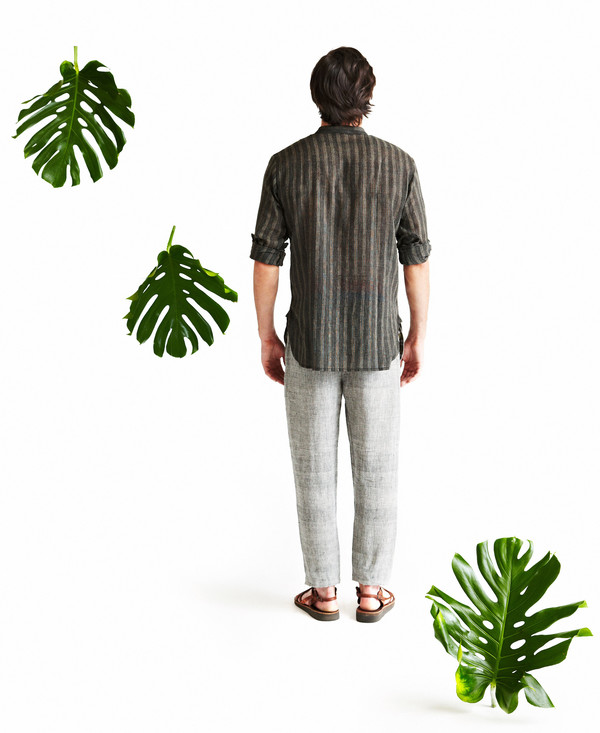 Men's Seek Collective Neruda Shirt, route weave