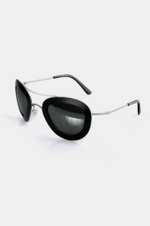 Men's Haal Aluminum Erika Sunglasses - Black/Black