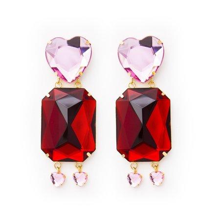 Pakera Pakera Carmen Earrings - Red