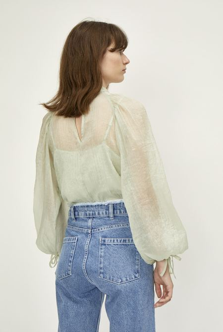 Just Female Sanne Blouse - Agate Gray