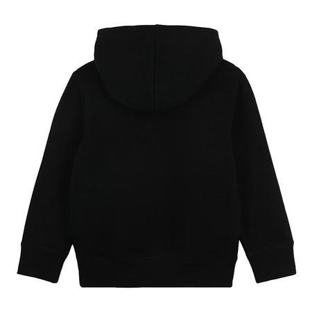 Kids Stella McCartney Sweatshirt With Hood And Fireworks Print - Black