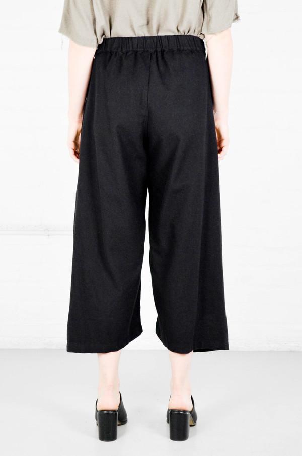 Black Crane Black Folding Pant